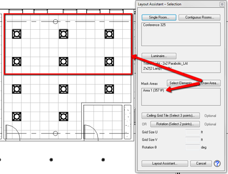 This would be analogous to the lighting zones that are to be switched Off with the daylighting contribution.For the rectangle below click four corners and ...  sc 1 st  ElumTools & Layout Assistant and Daylight Integration azcodes.com