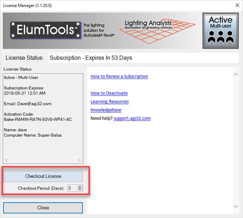 Using a Multi-User License